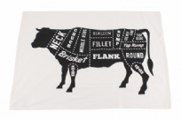 Beef Cut Tea Towel